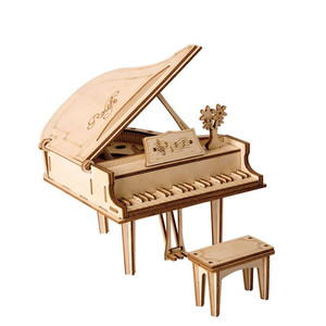 puzzle 3d piano