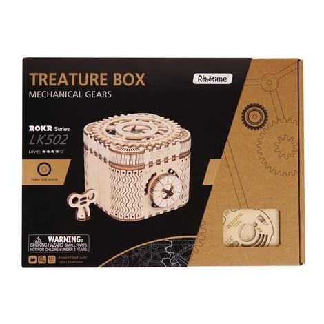 puzzle 3d boite trésor