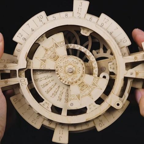 puzzle 3d horloge