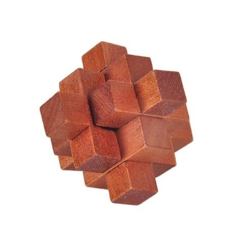coffret 6 casse tête en bois