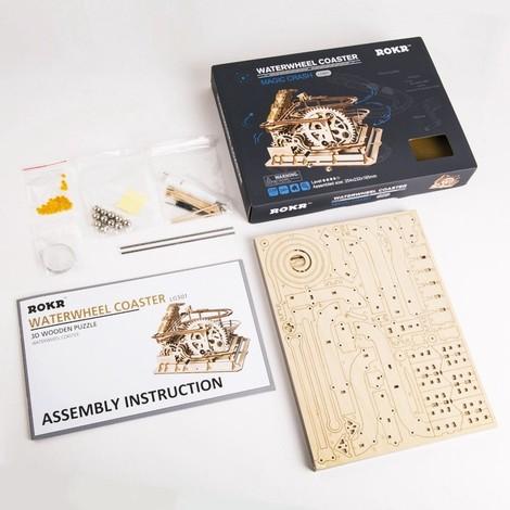 coffret 4 jeux de construction en bois