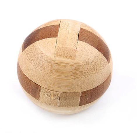 casse tête bois sphere
