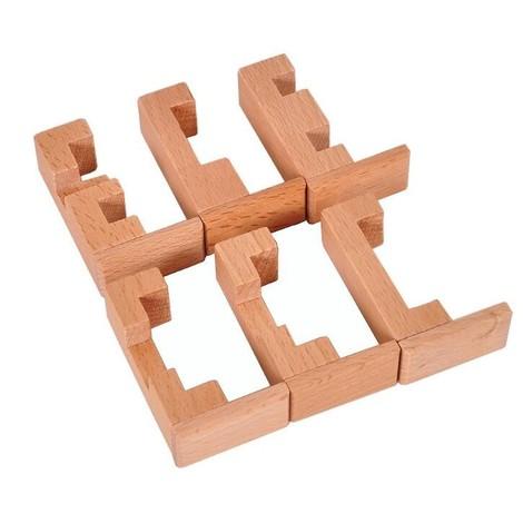 croix du charpentier en bois