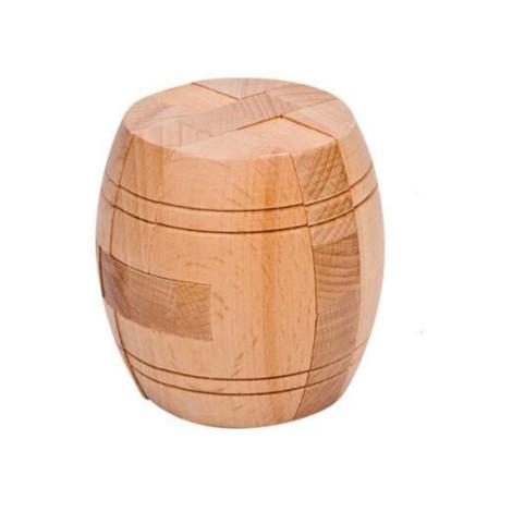 casse tête tonneau en bois