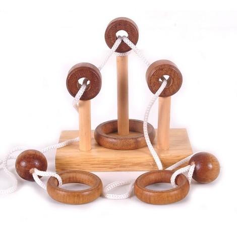 jeux en bois ficelle magique