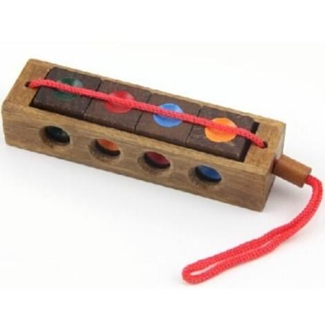 jeux en bois cube prisonnier