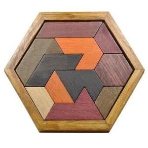 jeux en bois tangram