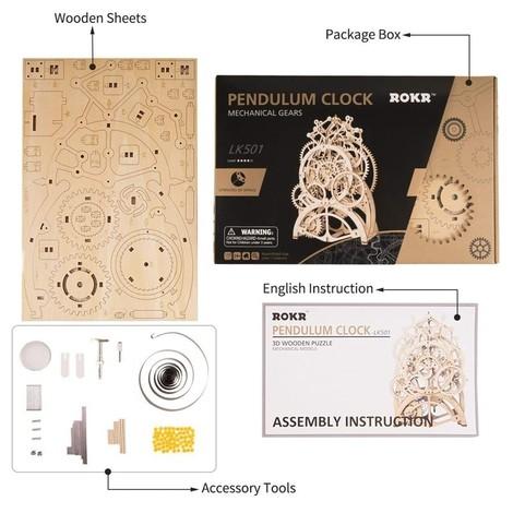 puzzle 3d pendule