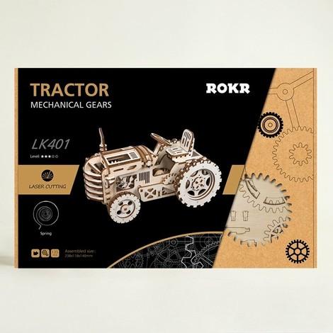 puzzle 3d tracteur