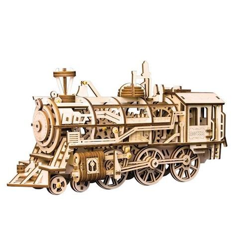 puzzle 3d locomotive