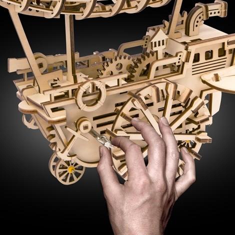 puzzle 3d ballon dirigeable