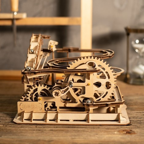 puzzle 3d waterwheel