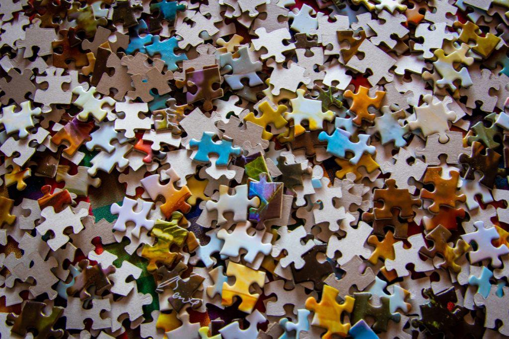 Les pièces d'un puzzle